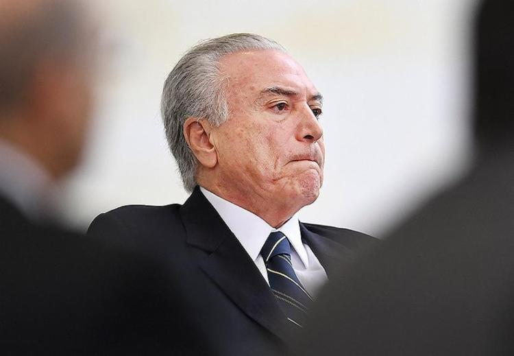 Presidente negou solicitar pagamentos pelo silêncio do ex-deputado Eduardo Cunha - Foto: Evaristo Sa l AFP