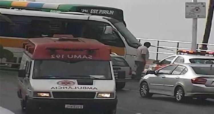 Vítimas foram atendidas pelo Samu - Foto: Divulgação | SSP