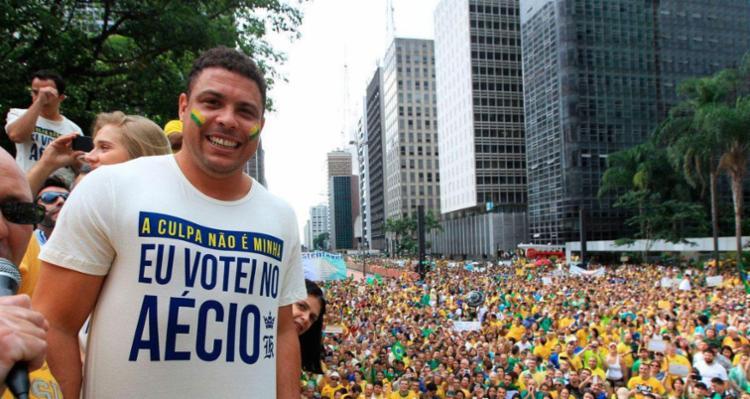 Ronaldo foi questionado de quem é a culpa agora - Foto: Reprodução