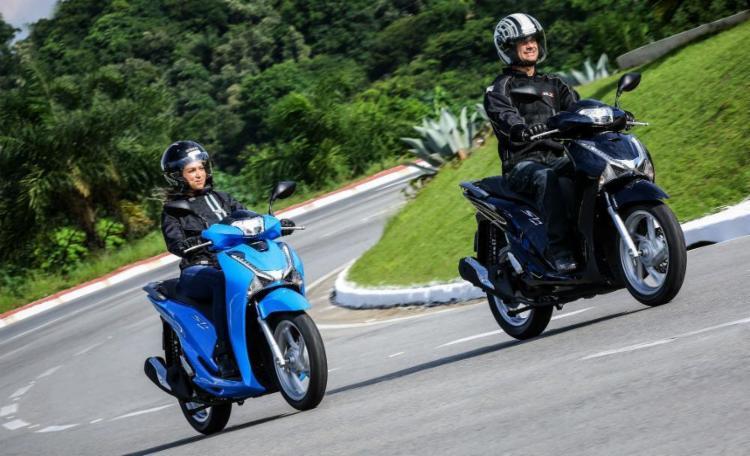 Por R$ 12.450, novo scooter traz suspensão macia - Foto: Divulgação | Honda