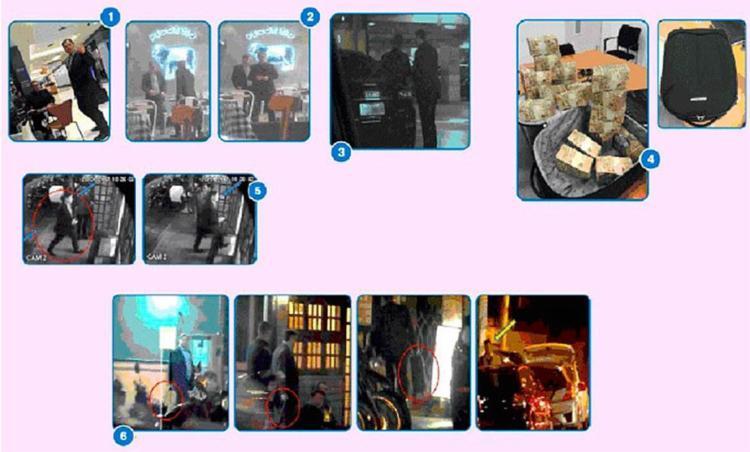 As fotos foram divulgadas pelo jornalista Lauro Jardim - Foto: Reprodução | O Globo