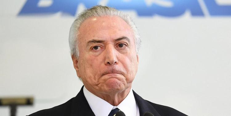 Temer disse que não pretende renunciar - Foto: Evaristo Sa l AFP