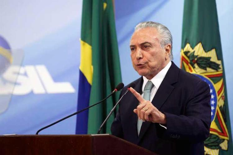 Diálogo com presidente da República foi gravado pelo executivo na noite de 7 de março no Palácio do Jaburu - Foto: Valter Campanato | Agência Brasil | 18.05.2017