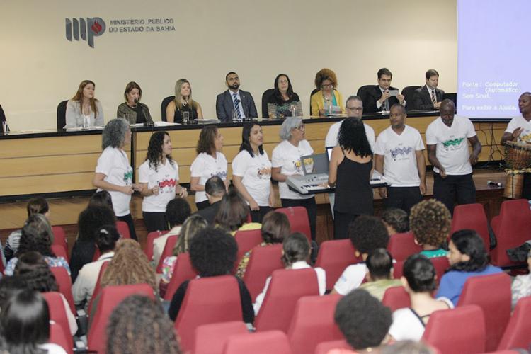 Evento aconteceu na sede do Ministério Público, no bairro de Nazaré - Foto: Luciano da Matta l Ag. A TARDE