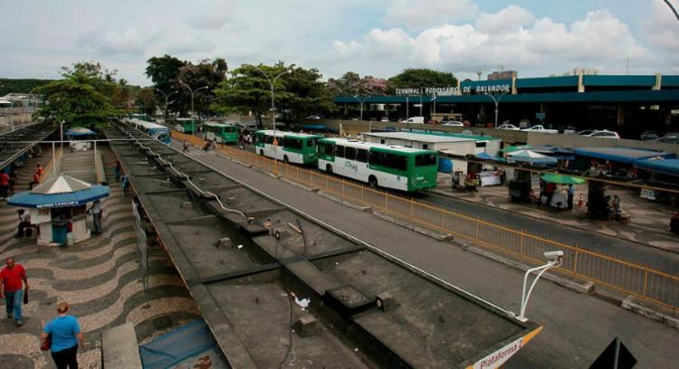 Terminal Rodoviário passa por reforma - Foto: Joá Souza | Ag. A TARDE