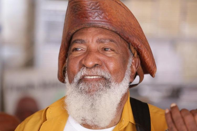 Bule Bule irá comemorar os 70 anos com um DVD ao vivo - Foto: Luciano da Matta   Ag. A TARDE