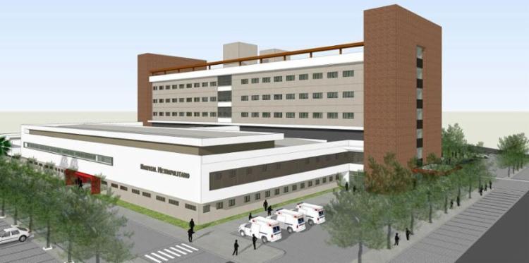 Hospital terá investimento de R$ 120 milhões e capacidade para 265 leitos - Foto: Divulgação