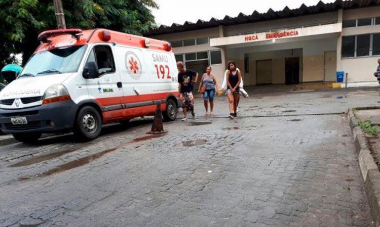 Vítimas de agressão foi encaminhadas para o Hospital Geral Clériston Andrade - Foto: Ed Santos | Acorda Cidade
