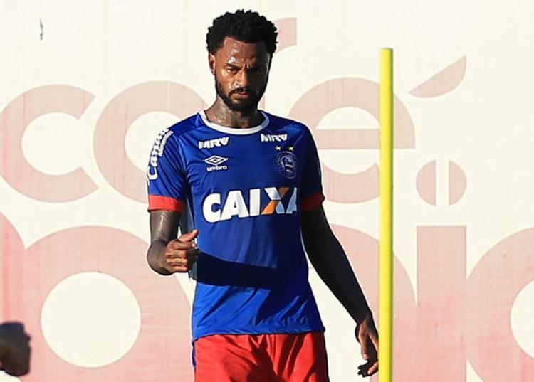 Carioca, volante Renê Júnior promete que sua galera vai 'descer' para o estádio de São Januário - Foto: Felipe Oliveira l EC Bahia