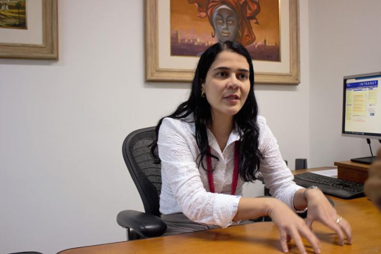 Rosângela Lacerda, procuradora do trabalho - Foto: Igor Andrade | Divulgação | 15.05.2017