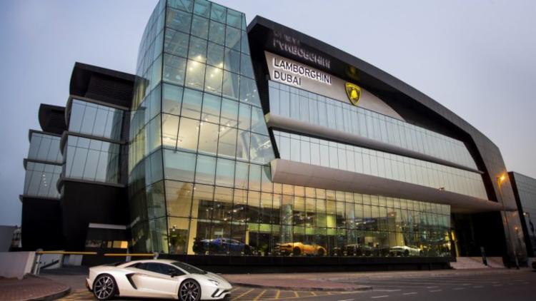 Maior concessionária da Lamborghini no mundo é inaugurada em Dubai - Foto: Divulgação