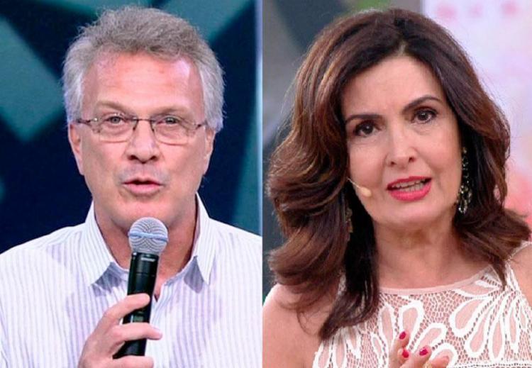 Bial e Fátima chegam a faturar mais de R$ 1 mi por cada campanha publicitária - Foto: Reprodução   TV Globo