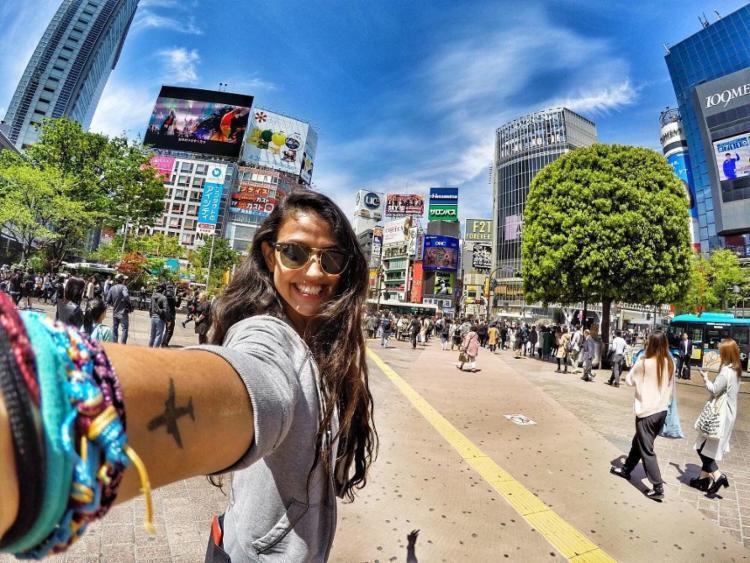 A baiana Gabriela Boaventura já viajou sozinha para cerca de 50 países - Foto: Acervo pessoal