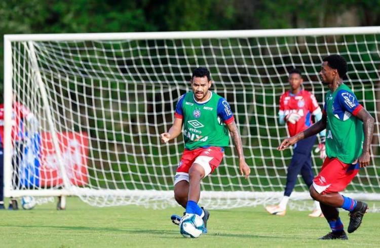 Importante no ano passado, Jackson tem atuado pouco em 2017 por causa das lesões - Foto: Felipe Oliveira | EC Bahia