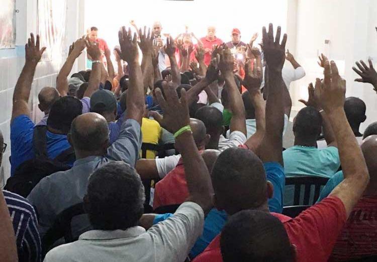 Sindicato dos vigilantes aprovou a greve em assembleia na última quinta, 18 - Foto: Divulgação | Sindivigilantes