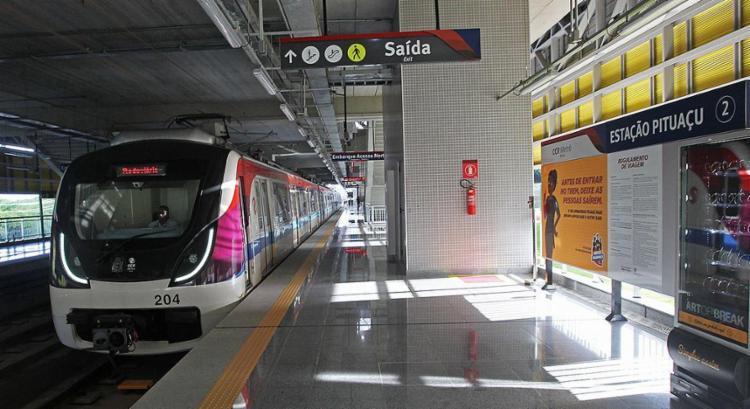 Novas estações do metrô entram em operação nesta terça-feira - Foto: Carol Garcia l Gov-BA