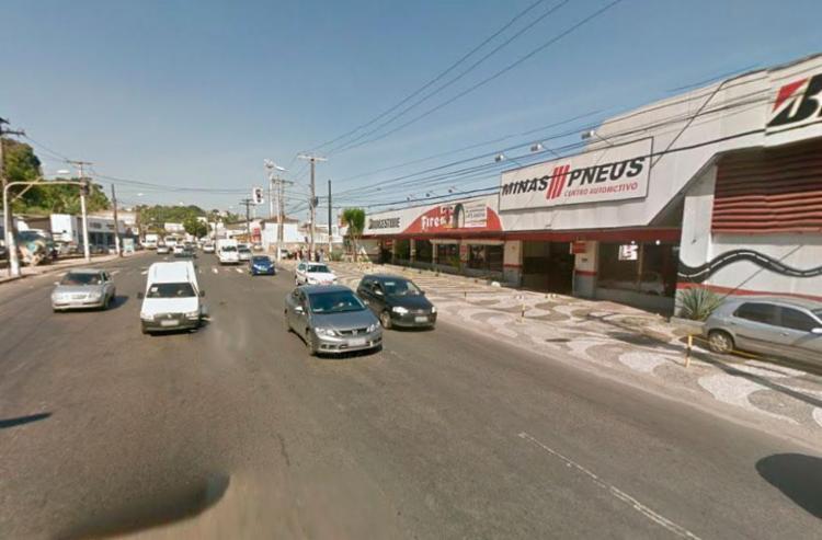 Crime aconteceu em frente à loja Minas Pneus - Foto: Reprodução | Google Maps