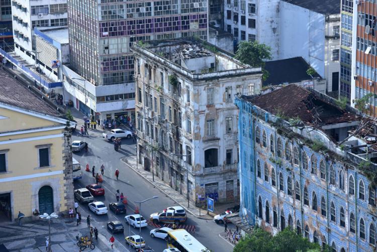 No local serão construídos o Museu da História de Salvador, o Museu do Arquivo Público da cidade e o Museu da Música - Foto: Divulgação Secom