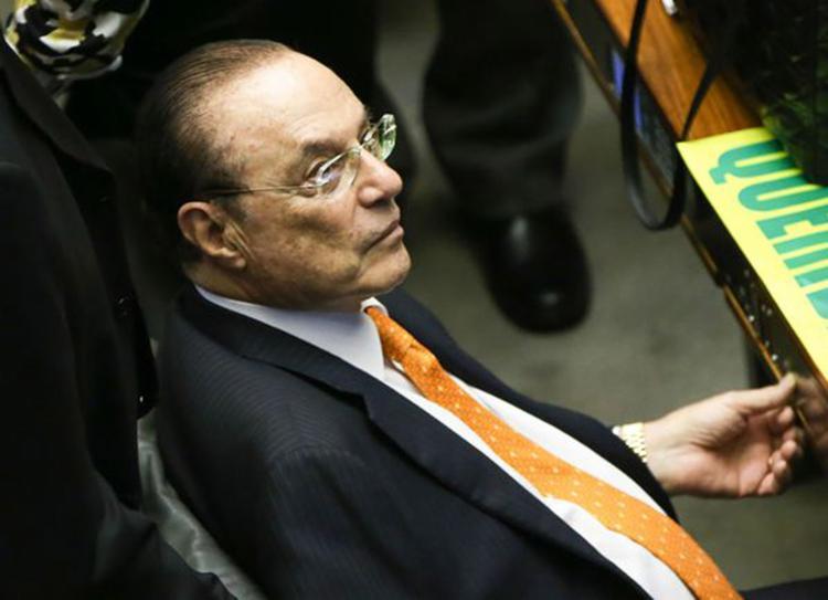 O parlamentar foi condenado a 7 anos, 9 meses e 10 dias pelo crime de lavagem de dinheiro - Foto: Marcelo Camargo l Agência Brasil