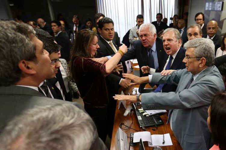 Relator deu como lido parecer após documento vazar na internet; texto pode ser votado em comissão na próxima terça - Foto: Fabio Rodrigues Pozzebom l Agência Brasil