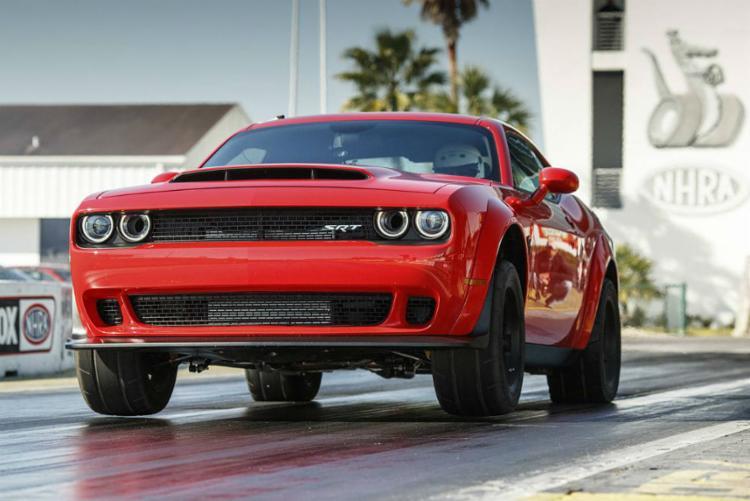 Dodge SRT Demon começa a ser vendido nos EUA - Foto: Divulgação