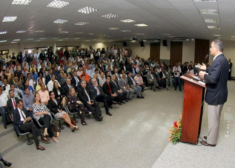 """Governador Rui Costa: """"Vamos seguir aquele ditado que diz 'a união faz a força'"""" - Foto: Manu Dias l Gov-BA"""