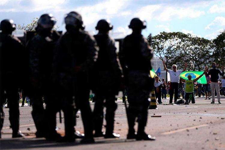 Forças Armadas foram acionadas para conter protestos em Brasília - Foto: Marcelo Camargo | Agência Brasil
