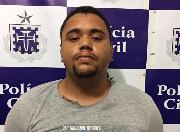 Willian Santos vai responder por porte ilegal de arma e homicídio - Foto: Divulgação   SSP