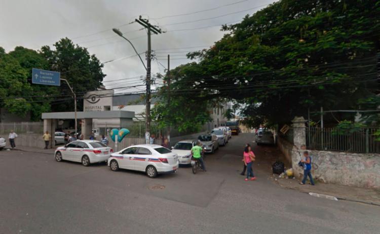 Vítima foi morto ao lado de hospital - Foto: Reprodução | Google Maps