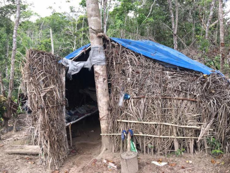 Os empregados dormiam em barracos improvisados - Foto: Divulgação | SRTE-BA