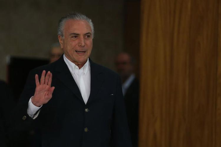 Petição da defesa foi encaminhada ao ministro Fachin após a PGR pedir autorização para marcar depoimento do presidente - Foto: José Cruz l Agência Brasil