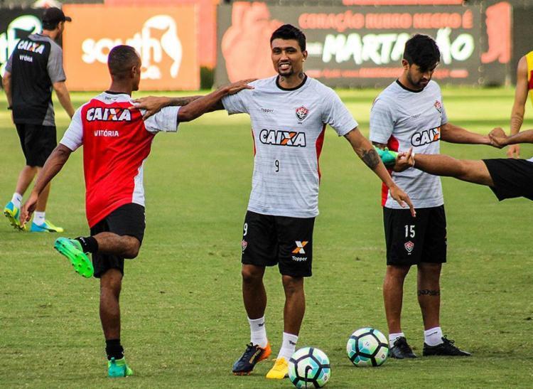 Vindo de lesão, Kieza não faz gol há quase dois meses - Foto: Maurícia da Matta l EC Vitória