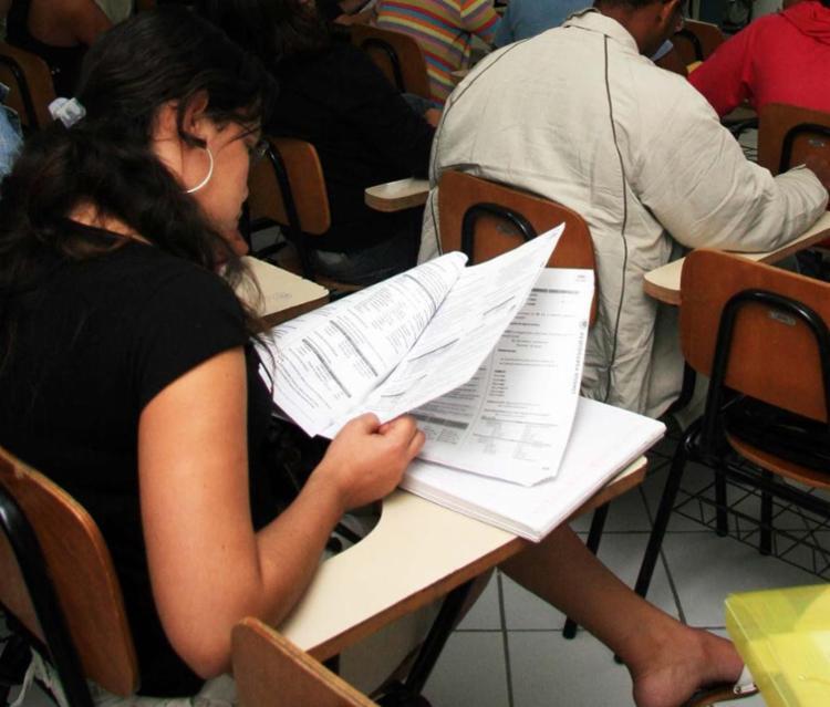 A prova de redação será aplicada no dia 5 de novembro - Foto: Joa Souza | Ag. A TARDE | Arquivo