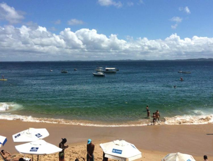 Dois jovens desapareceram no mar da Barra na última sexta, 26 - Foto: Divulgação