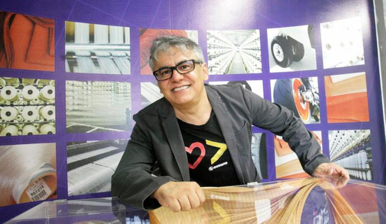 França, da Kordsa, ressalta que funcionários felizes são mais produtivos - Foto: Luciano da Matta | Ag. A TARDE