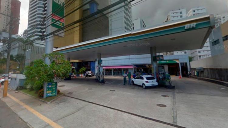Crime aconteceu em posto na rua Leonor Calmon - Foto: Reprodução | Google Maps