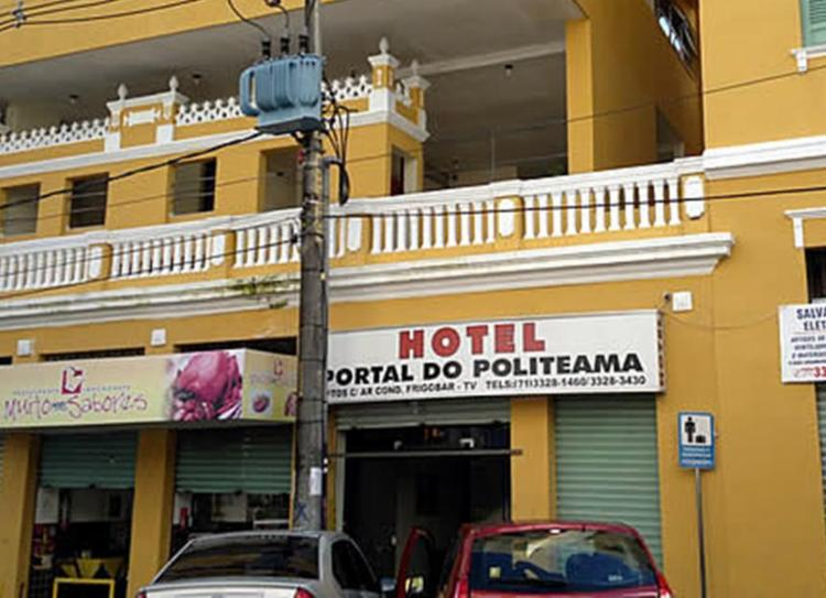 Crime aconteceu no hotel Portal do Politeama - Foto: Divulgação