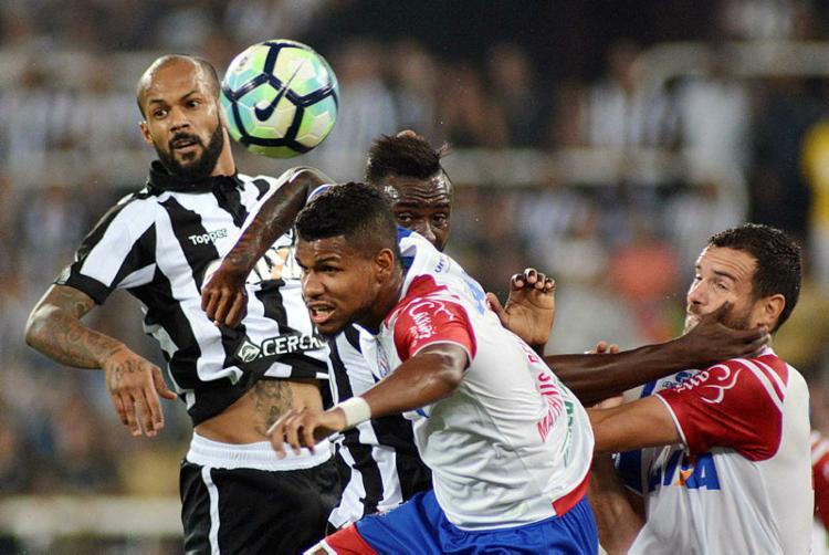 Jogo no Rio de Janeiro foi muito equilibrado - Foto: WALLACE TEIXEIRA / FUTURA PRESS / ESTADÃO CONTEÚDO