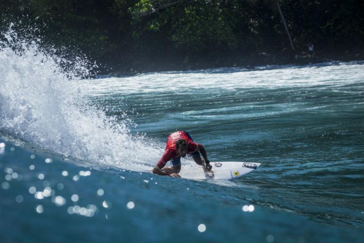 Bino Lopes vai competir em Fiji no lugar do paulista Caio Ibelli - Foto: Poullenot / Aquashot