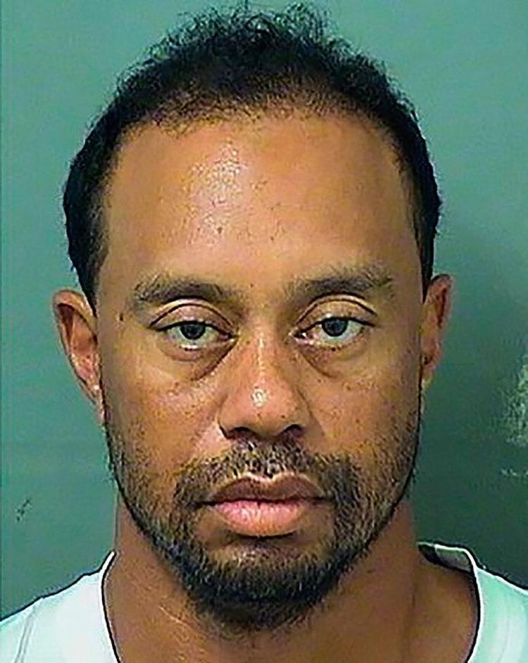 Lenda do golfe, norte-americano foi levado para prisão em Jupiter, Florida, e liberado horas depois - Foto: Reprodução   AFP