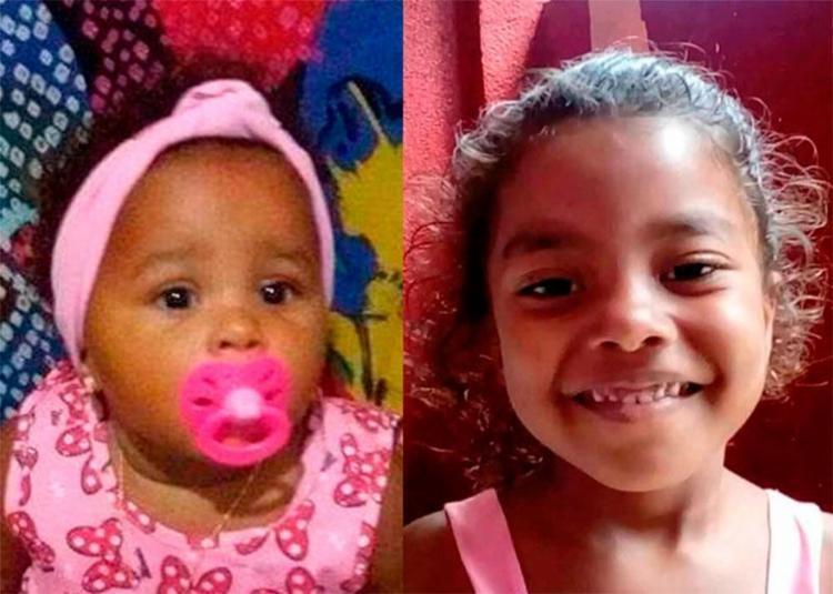 Meninas estão desaparecidas desde a noite de sexta quando os pais foram mortos - Foto: Reprodução