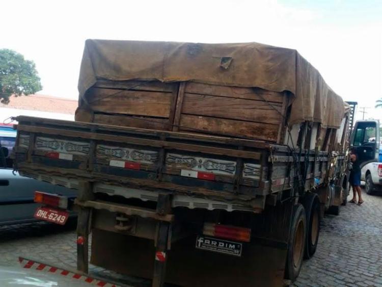 Droga estava escondida em caminhão que veio de Rondônia - Foto: Divulgação | Polícia Civil