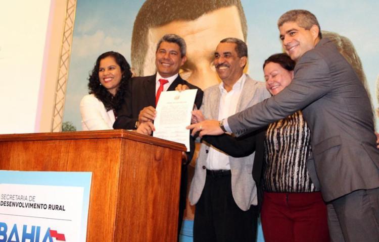 O convênio tem a participação de várias secretarias - Foto: Jorge Codeiro | SSP