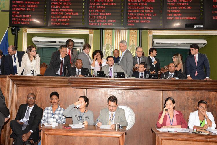 Vereadores aprovaram por acordo o projeto que cria Fumpres e altera Conselho - Foto: Antonio Queirós l CMS