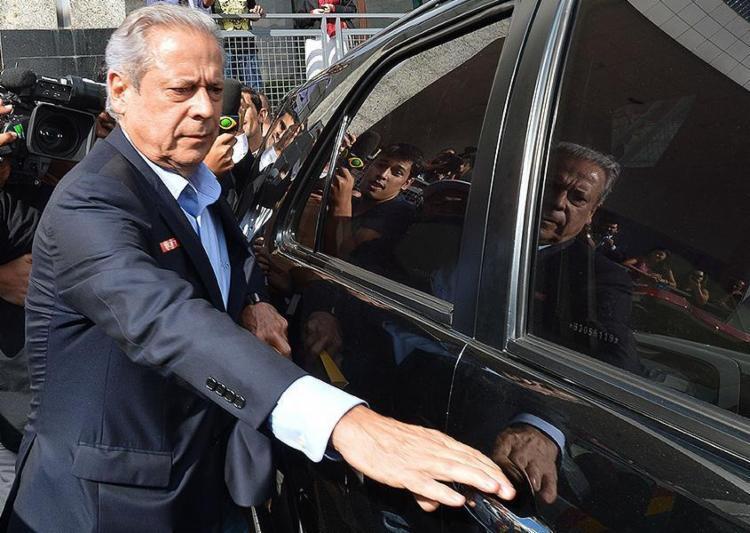 Moro determina que o ex-ministro, solto por decisão do Supremo, use tornozeleira eletrônica - Foto: Fabio Rodrigues Pozzebom l Agência Brasil l 04.11.2014