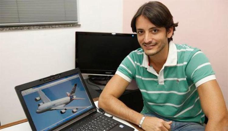 O administrador Marcos Peixoto desenvolveu fobia após turbulências em voo - Foto: Margarida Neide | Ag. A TARDE