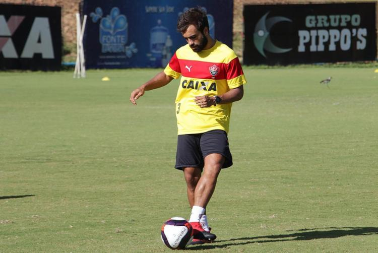 Meia foi vetado do jogo de quarta devido a uma gripe - Foto: Moysés Suzart l EC Vitória