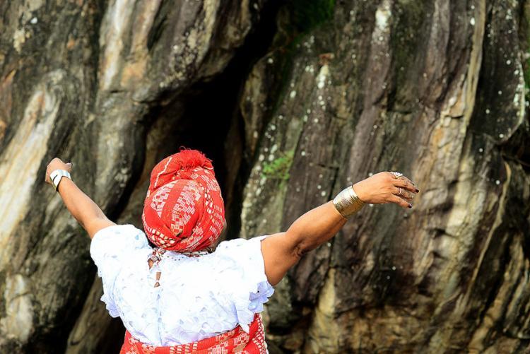 Local é utilizado por religiões de matriz africana para a realização de rituais - Foto: Valter Pontes l Secom-SSA