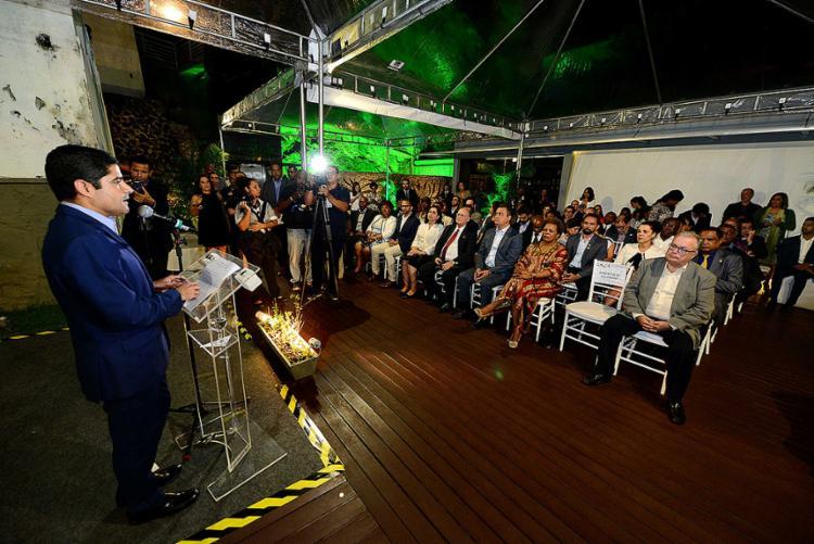 O evento reúne autoridades de nove países - Foto: Valter Pontes l Secom-SSA