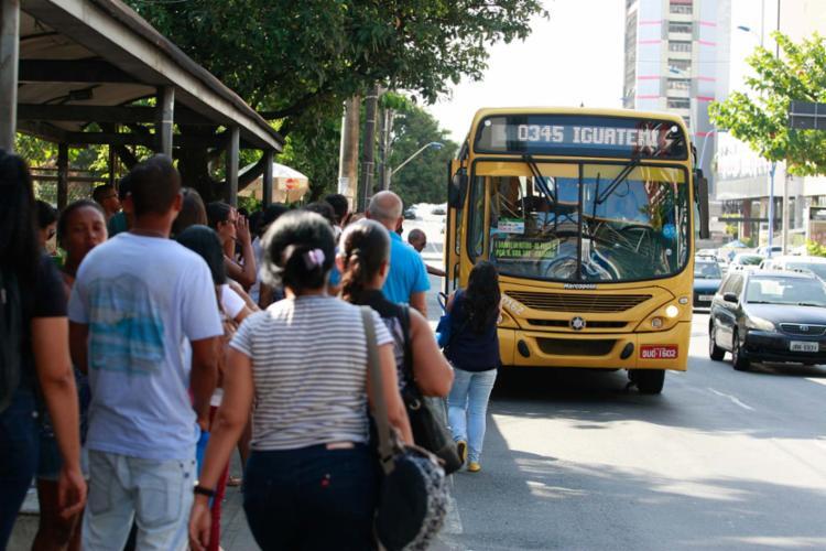 Para o MP, serviço prestado no sistema de transporte público de Salvador precisa melhorar - Foto: Joá Souza | Ag. A TARDE | 21.10.2016